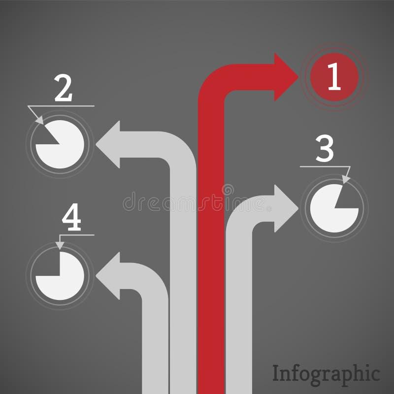 Mieszkania visualisation proces pojęcie z liczącymi krokami ilustracji