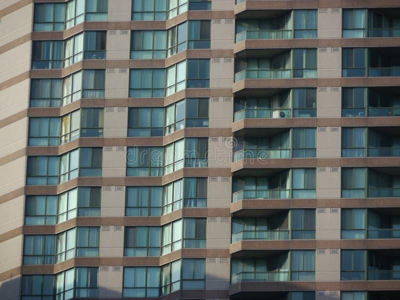mieszkania zamykają kondominium zdjęcia stock