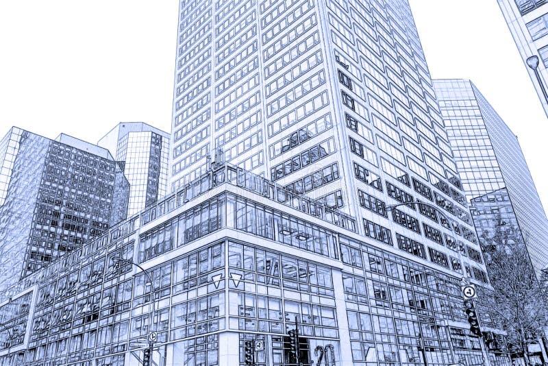 mieszkanie budynku biura w interesach miejsca pracy ilustracji