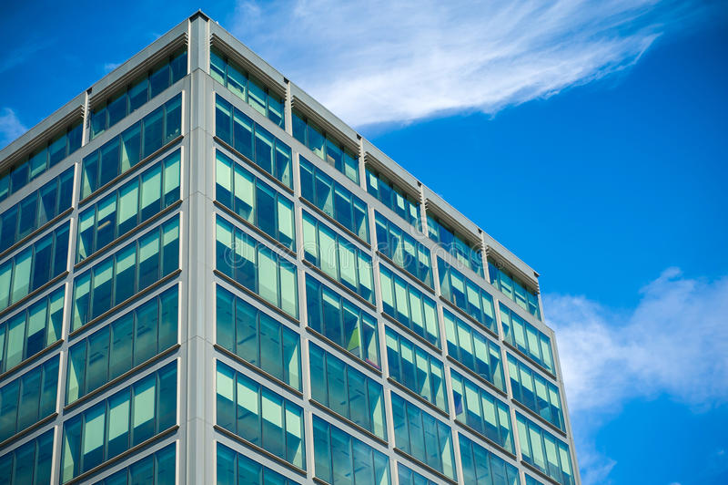 mieszkanie budynku biura w interesach miejsca pracy zdjęcia stock