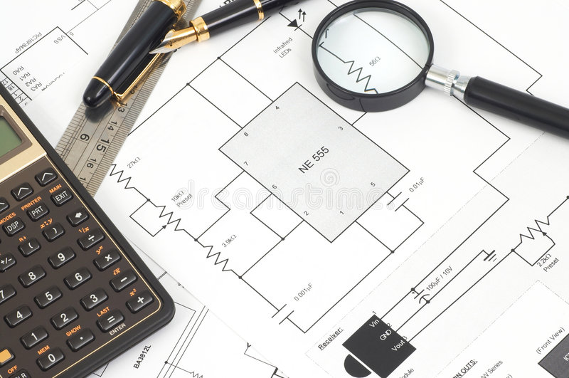 mieszkanie elektryczny korka plan zdjęcie stock