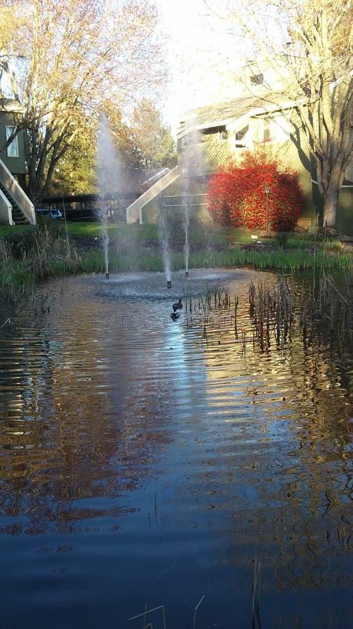 Mieszkanie fontanna zdjęcie royalty free