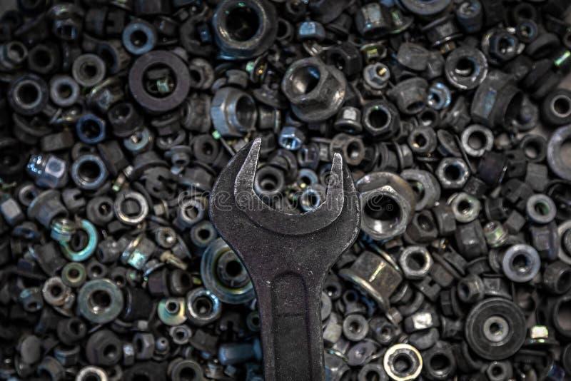Mieszkanie metalu Nieatutowi narzędzia fotografia royalty free