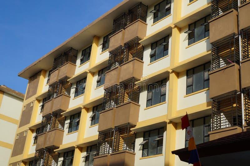 Mieszkanie na zewnątrz solarium widoku punktu zdjęcia stock