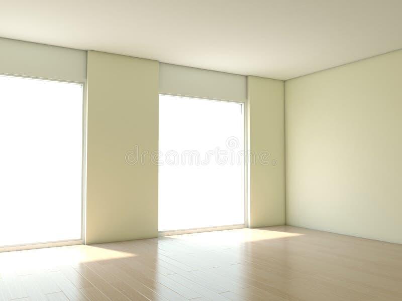 mieszkanie pusty ilustracja wektor