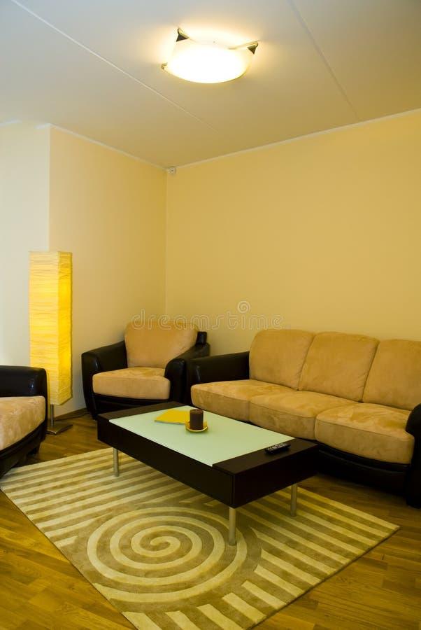 mieszkanie salon. obraz royalty free