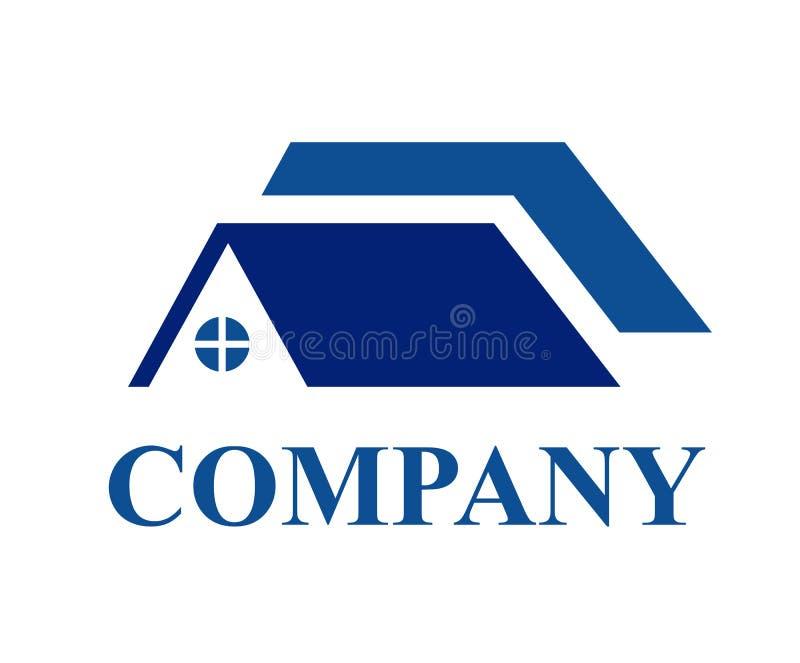 Mieszkaniowy domowy logo 3 royalty ilustracja