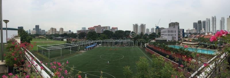 Mieten von Futsals-Fußballplatz Singapur stockfoto