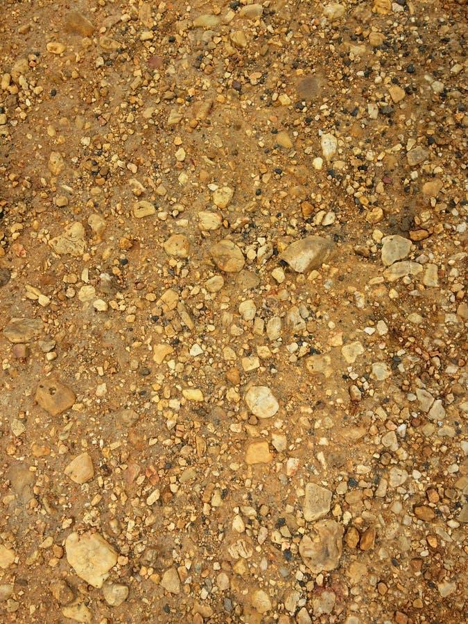 Miette en pierre, sol rocheux photo stock