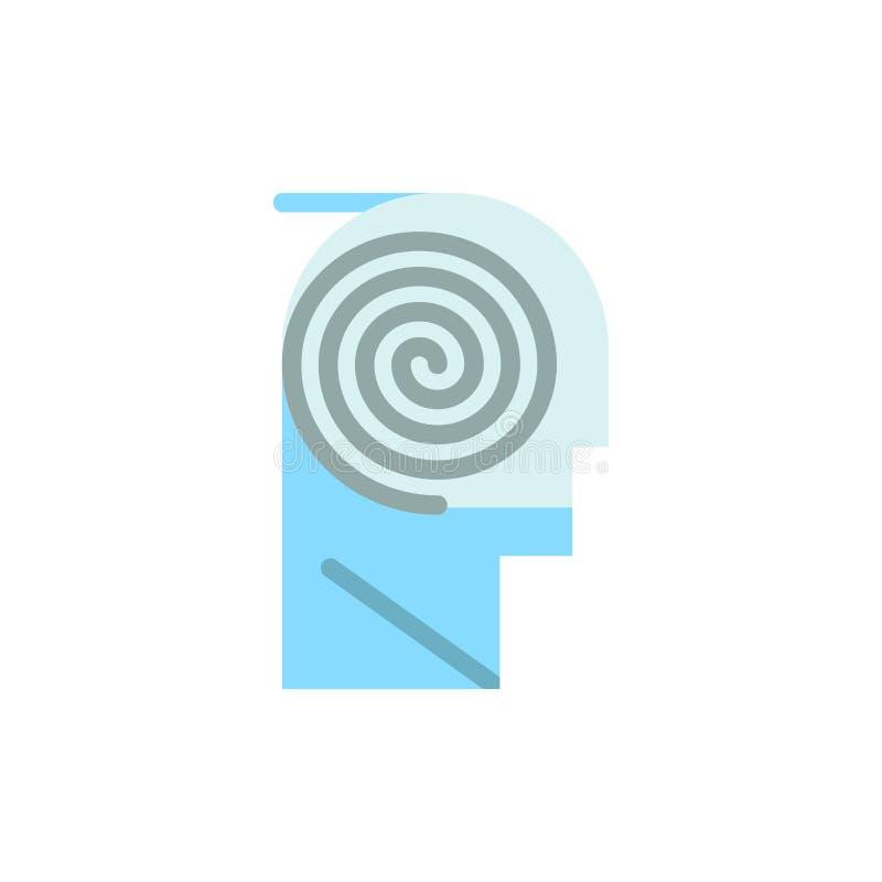 Mieux, compréhension, définition, apprenant, icône plate de couleur d'étude Calibre de bannière d'icône de vecteur illustration stock
