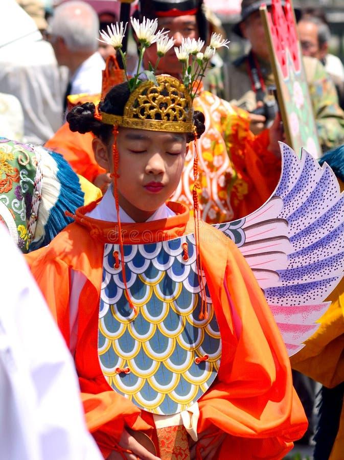 Mifune festival, Kyoto, Japan royaltyfria foton