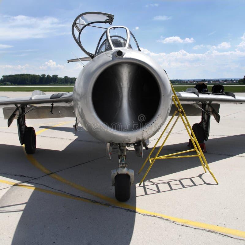 MiG-15 πολεμικό τζετ στοκ εικόνες