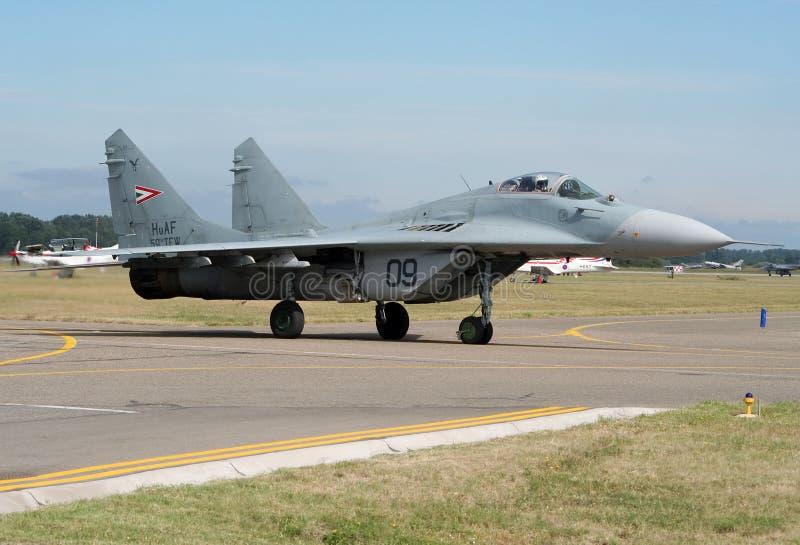 MiG-29 Hungary stock photos