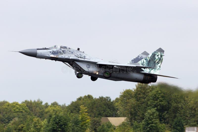 MiG-29 fotografia stock libera da diritti