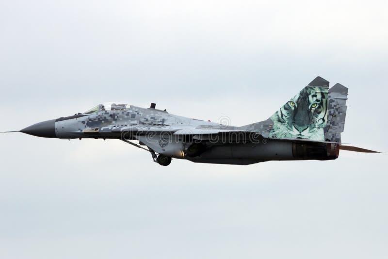 MiG-29 fotografie stock