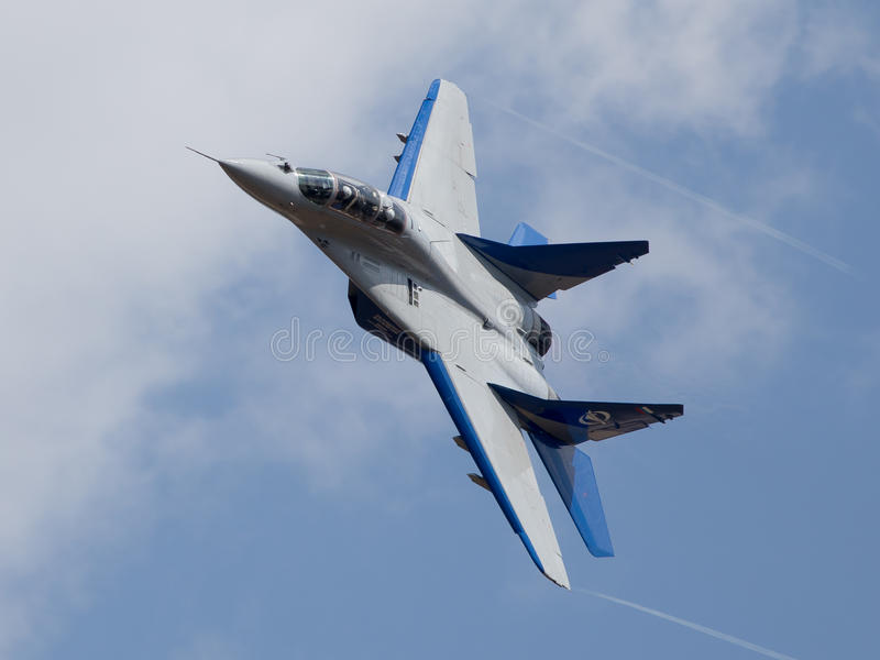 MiG-29 photographie stock