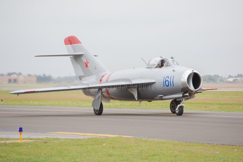 MiG-17 fotografia de stock royalty free