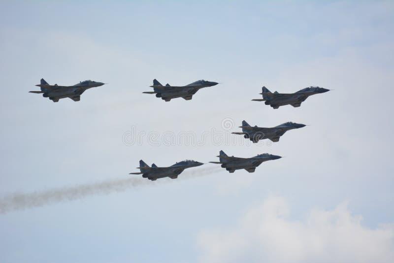 MiG-29 fotografia stock