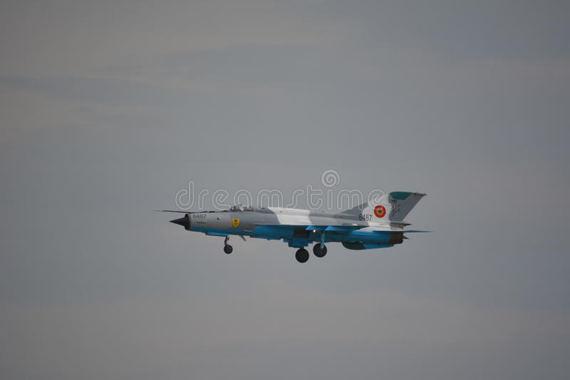 Mig-21 Lancer stock photos