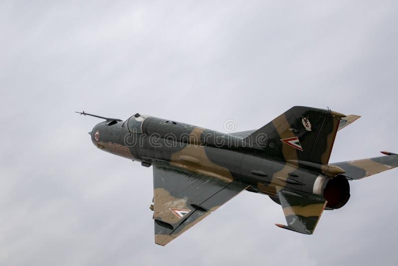 MIG 21 le dernier vol image libre de droits