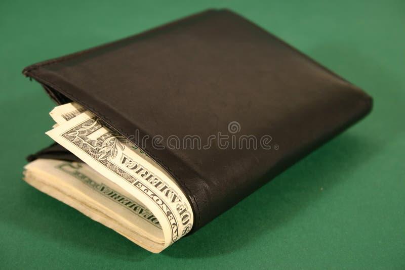 mig pengarhandväska royaltyfria bilder