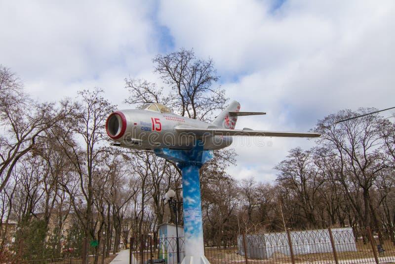 MiG-15 produit C, avion I-310, Fagot - combattant soviétique photo stock