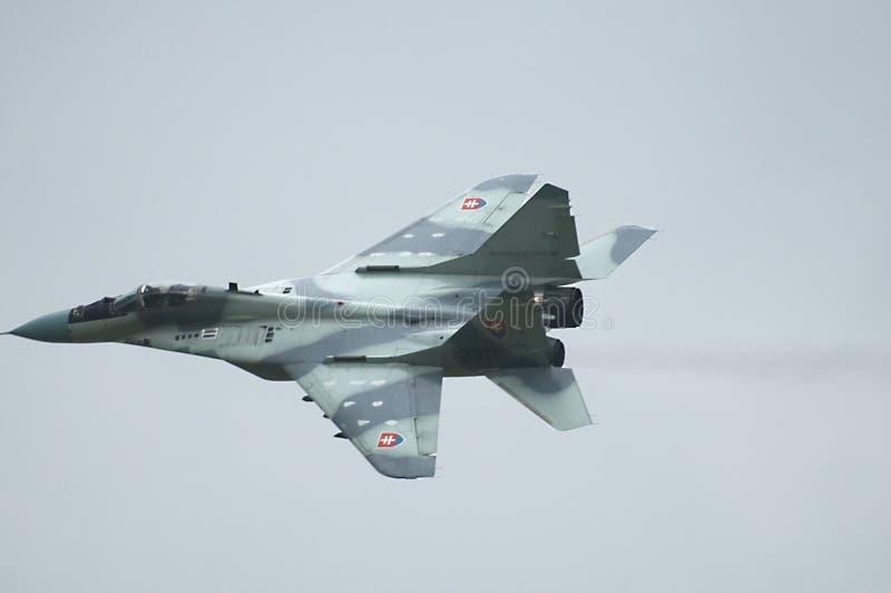 mig-slovak för 29 flygvapen arkivbild