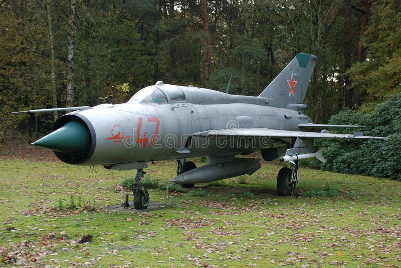 Download Mig-21 Soesterberg editorial stock image. Image of base - 50976489