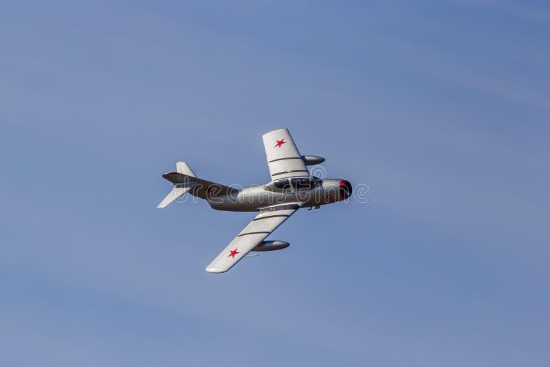 Mig-15 vechtersstraal royalty-vrije stock foto