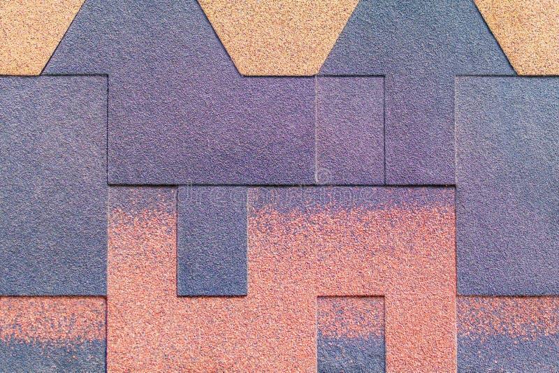 Migalha colorido do emplastro da textura fotos de stock