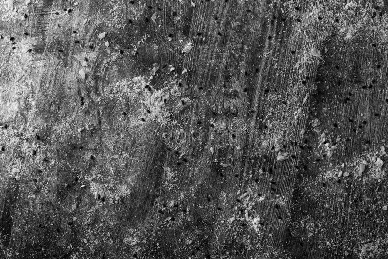 Migas de pan y harina de los pasteles fotografía de archivo