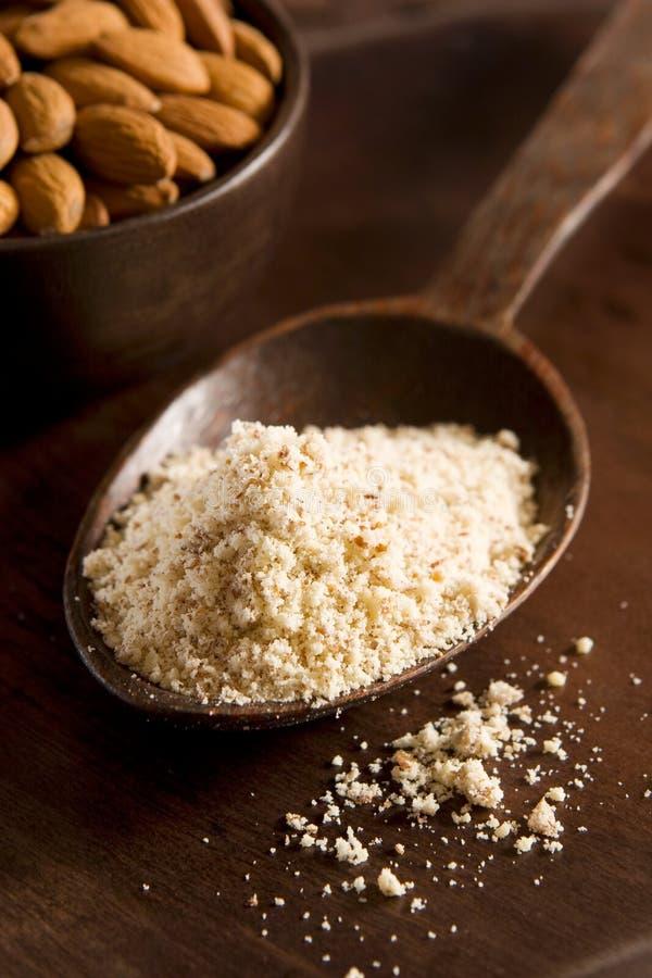 migdałowa mąki zdjęcie stock