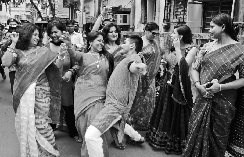 migdału świętowania czerwony jakiś ślub fotografia royalty free