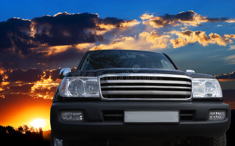 Download Might offroad car thundery stock image. Image of comfortable - 2889217