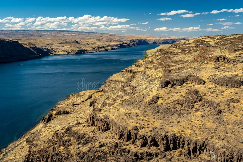 Columbia river in Washington state, USA. Mighty Columbia river in Washington state, USA stock images