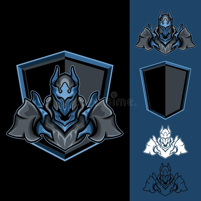 Blue Mighty Lord royalty free illustration