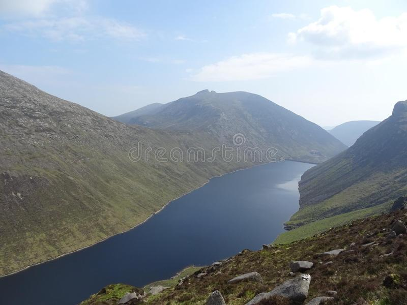 The mighty Mournes royalty free stock photo