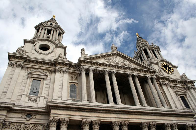 Download The Mighty St Paul Cathedral, London Stock Image - Image: 1203227