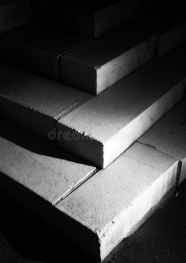 Mighty staircases royalty free stock photos