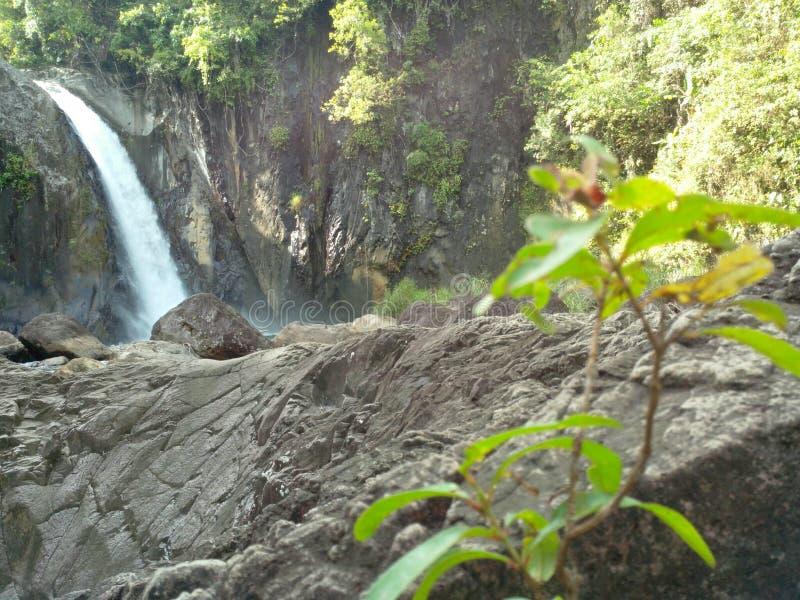 Mighty waterfalls stock image
