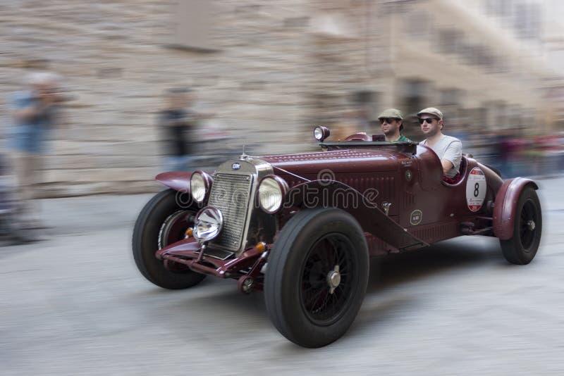 Miglia 1000 2015, corsa di automobile famosa di Italys fotografia stock