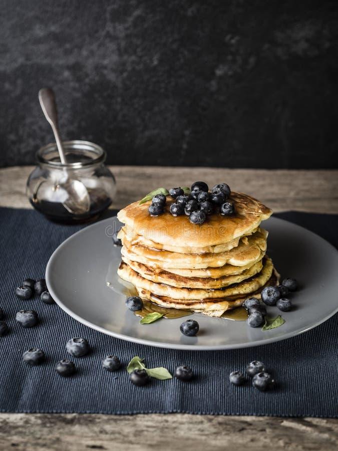Migliore mai ricetta del pancake fotografie stock libere da diritti