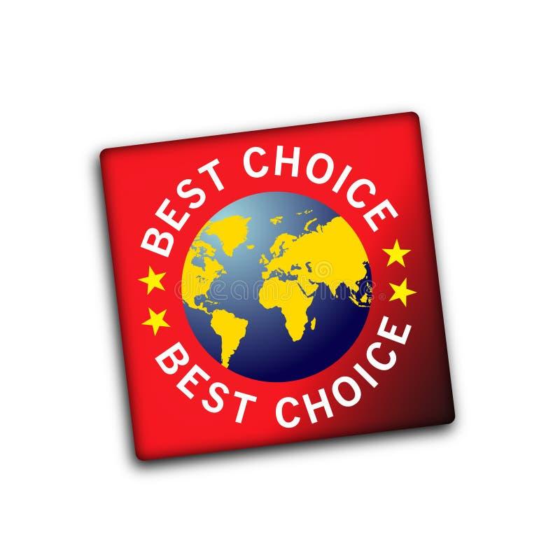 Migliore mondo Choice royalty illustrazione gratis