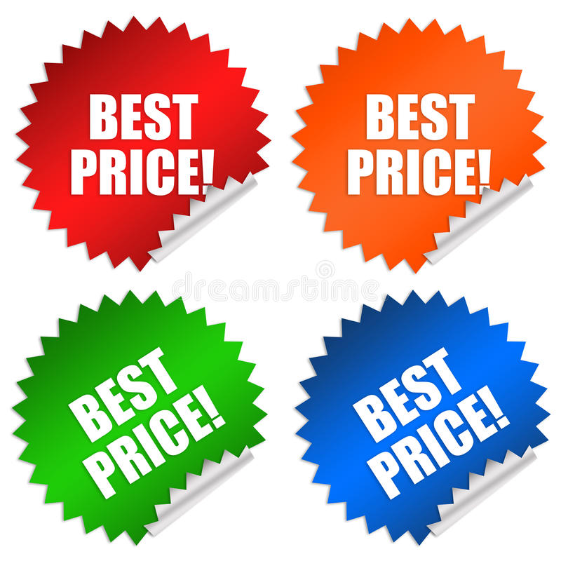 Migliore prezzo illustrazione vettoriale