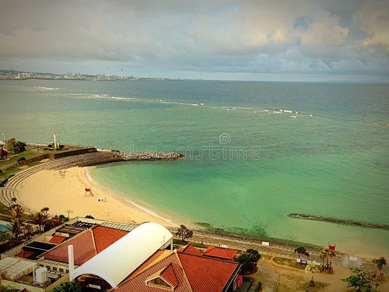 Migliore vista della spiaggia fotografie stock libere da diritti
