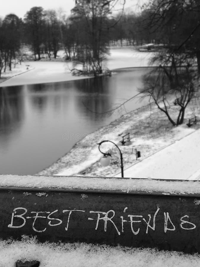 Migliori amici fotografie stock libere da diritti