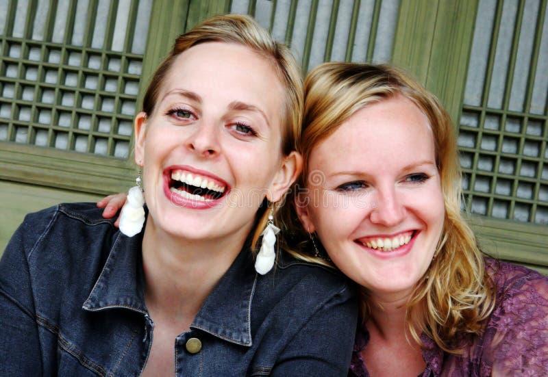 Migliori amici fotografia stock libera da diritti