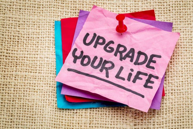 Migliori il vostro avviso di vita immagini stock