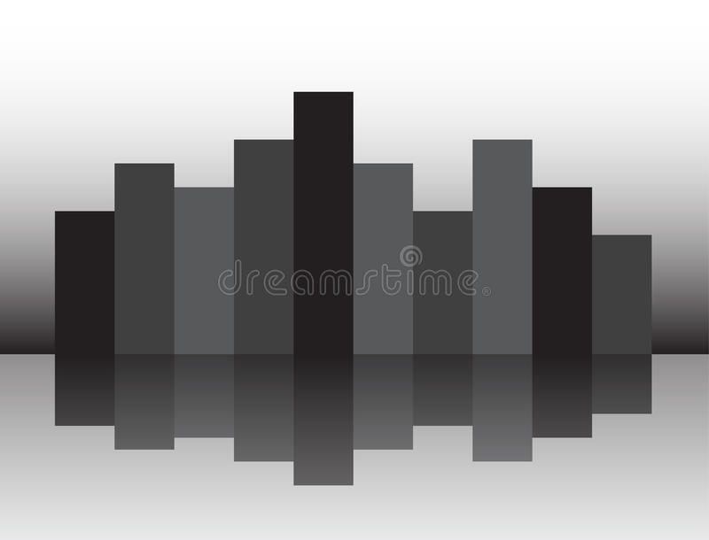 Download Mignight city stock vector. Illustration of dark, shiny - 33645314