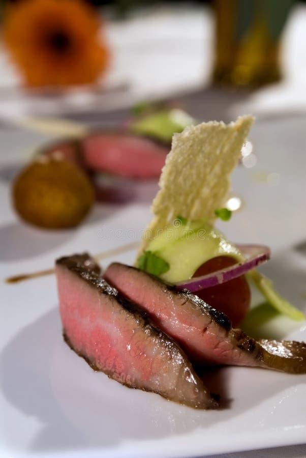 Mignon de faixa do gourmet fotografia de stock